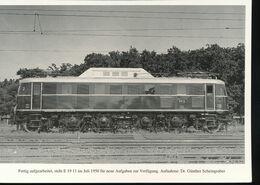 N° 154 --- Lokportrat Beaureihe E 19 --  Bild 5 - Trenes