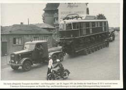 N° 154 --- Lokportrat Beaureihe E 19 --  Bild 6 - Trenes