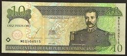"""10 Pesos Oro   """"République Domicaine"""" 2003   UNC       Ble27 - República Dominicana"""