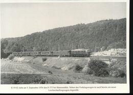 N° 154 --- Lokportrat Beaureihe E 19 --  Bild 7 - Trenes