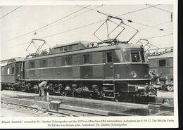 N° 154 --- Lokportrat Beaureihe E 19 --  Bild 8 - Trenes