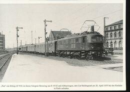 N° 154 --- Lokportrat Beaureihe E 19 --  Bild 10 - Trenes