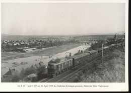 N° 154 --- Lokportrat Beaureihe E 19 --  Bild 11 - Trenes
