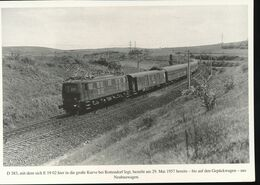 N° 154 --- Lokportrat Beaureihe E 19 --  Bild 13 - Trenes