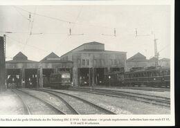 N° 154 --- Lokportrat Beaureihe E 19 --  Bild 14 - Trenes