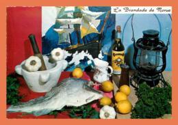 A594 / 485 Recette De Cuisine La Brandade De Morue - Cartoline