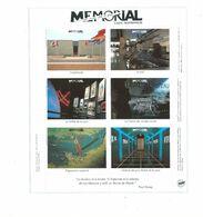 Vignettes Bloc CAEN Normandie Mémorial Du Musée Pour La Paix TB 2 Scans - Blocs & Carnets