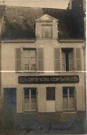 44 . ANCENIS  COMPTOIR NATIONAL D' ESCOMPTE DE PARIS .  B.N.P. ( Trait Blanc N'est  Pas Sur L'original ) CARTE PHOTO - Ancenis