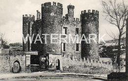 ENNISCORTHY THE CASTLE OLD B/W POSTCARD IRELAND - Wexford