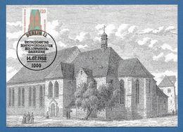 Berlin 1988  Mi.Nr. 815 , Schleswiger Dom - Freimarken - Maximum Card - Stempel Berlin 14.07.1988 - [5] Berlijn