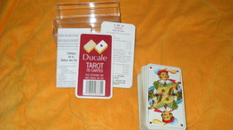 JEU DE CARTES TAROT / DUCALE TAROT 78 CARTES DOS ECOSSAIS AXE.. - Tarot-Karten