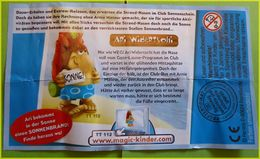BPZ SERIE STRANDNASEN IN CLUBERLAUD ALLEMAGNE 2007 - Instructions