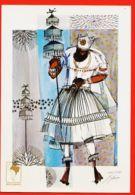 AMS100 Peu Commun Esotérisme Croyance Divinité BRASIL OXALUFAM Sexta-Feira OXANGUIA ORIXAS Cristo Negro 1989 / 901-01 - Brasilien