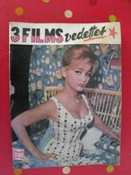 "Reliure De 3 ""mon Film"" 70,71,72. 1963. Noiret Rochefort Fernandel Mercier Sophia Loren Galabru Ceccaldi Arletty Renant - Cinema"
