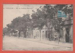 CPA Carte 31Toulouse Rue Du Faubourg Bonnefoy Edition Clémence-Isaure Écrite Recto/Verso - Toulouse