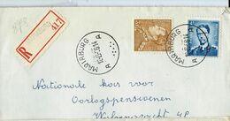 Doc. De MARIABURG - A A - Du 12/06/56  En Rec. ( E ) - Marcophilie