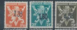 724 DD/FF *  Traces De Charnières    Cote 30.00 - Belgique
