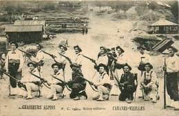 06* CABANES VIEILLES Chasseurs Alpins    RL,0340 - Regiments