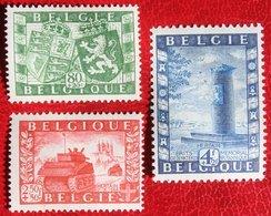 Union Belgo-britannique 1950 OBP 823-825 (Mi 863-865) POSTFRIS /MNH ** BELGIE BELGIUM - Belgium