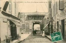 06* ANTIBES Porte De La Marine    RL,0453 - Antibes