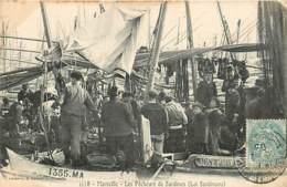 13* MARSEILLE  Pecheurs De Sardines    RL,0887 - Visvangst