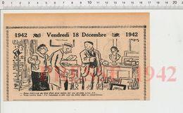 2 Scans Humour Métier Volailler Poule Aux Oeufs D'or Peau De Lapin Fourrure Vison Antiquaire Brocanteur Napoléon 231B - Sin Clasificación