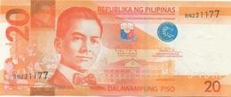 Philippines : 20 Piso 2010 : UNC - Philippines