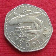 Barbados 1 One Dollar 1979 KM# 14.1  Barbades Barbade - Barbados