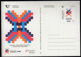 Croatia 2019 / European Universities Combat Championships Zagreb, Martial Arts / Postal Stationery - Kroatien