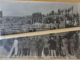 MAROC TAZA 19 JUILLET 1905 GRANDE PHOTO COURSE DE TAUREAUX AU PROFIT DES BLESSES DU FRONT RIFFAIN   VCE20 - Lugares