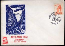 Yugoslavia Belgrade 1967 / Auto - Moto Reli Sutjeska / Rally, Cars, Motorbikes - Motorräder