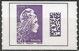 FRANCE AUTOADHESIF N° 1604 NEUF - France