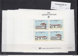 Portugal (KY) Micfhel Cat.No. Mnh/** Sheet 71   Cept Issue Bulk Ofer -10- Items - 1990