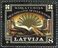 Letonia 1995 Correo 374 ** 60 Aniversario Apelación Karlis Ulmanis - Lettonie