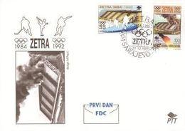 1995 FDC, SPORT - Zetra In War, Bosnia And Herzegovina, MNH - Bosnia And Herzegovina