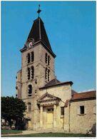 Carte Postale 78. Saint-Nom-la-Breteche  Quartier De L'église Trés Beau Plan - St. Nom La Breteche