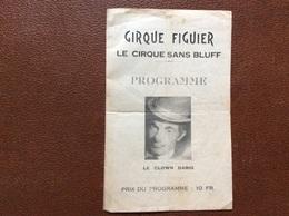 PROGRAMME CIRQUE  CIRQUE FIGUIER  Le Clown Dario - Programmi