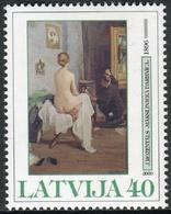 Letonia 2000 Correo 483 ** Arte. Obra De J. Rozentals - Lettonie