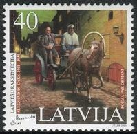 Letonia 2000 Correo 489 ** 50 Aniv. Muerte Escritor  Alexansdrs Caks - Lettonie