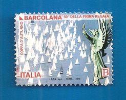 2018 ITALIA Barche Vela Regata - Barcolana - B Usato - 6. 1946-.. Repubblica