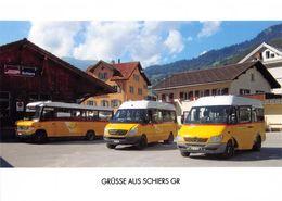 Schiers 3 Postauto Q   Limitierte Auflage! - GR Grisons