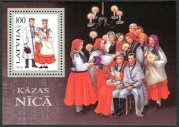 Letonia 1995 Hojas Bloque 5 ** Trajes Nacionales - Lettonie