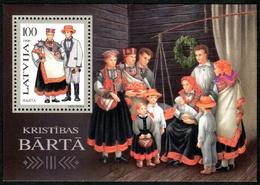 Letonia 1996 Hojas Bloque 6 ** Trajes Nacionales - Lettonie