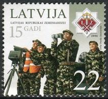 Letonia 2006 Correo 650 ** Ejército. 15 Aniv. Cuerpo De Voluntarios - Lettonie