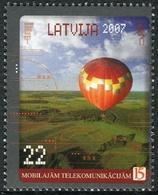 Letonia 2007 Correo 666 ** 15 Años Telefonía Móvil - Lettonie