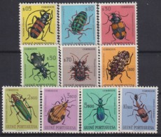 F-EX18237 GUINEE MH 1953 INSECT ENTOMOLOGY COMPLETE SET - Insectes