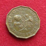 Nigeria 3 Pence 1959 KM# 3 Three Pence - Nigeria