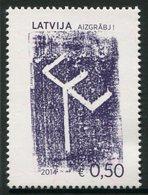 Letonia 2014 Correo 881 ** Valores Culturales De Letonia - Lettonie