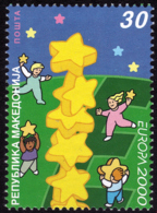 Macédoine - Europa CEPT 2000 - Yvert Nr. 195 - Michel Nr. 196  ** - 2000