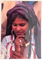 Carte Postale : NIGER : Jeune Fille TARGUI, Photo Raymond FAU - Niger